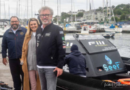 Cork - Fastnet - Cork Powerboat Record