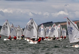 Irish Opi nationals day 2 Main fleet (Paul Keal)
