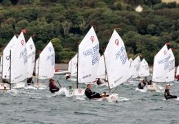 Irish Opi nationals day 3 Main fleet (Paul Keal)