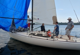 Keelboat Fun Race June 2018