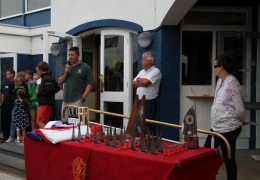 Laser Nationals Prize Giving