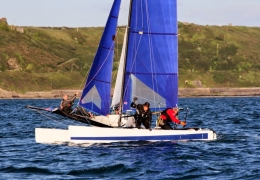 Mixed Dinghies June League (Paul Keal)
