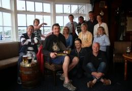 Nick Walsh, Irish Masters Laser Champion 2014(Paul Keal)