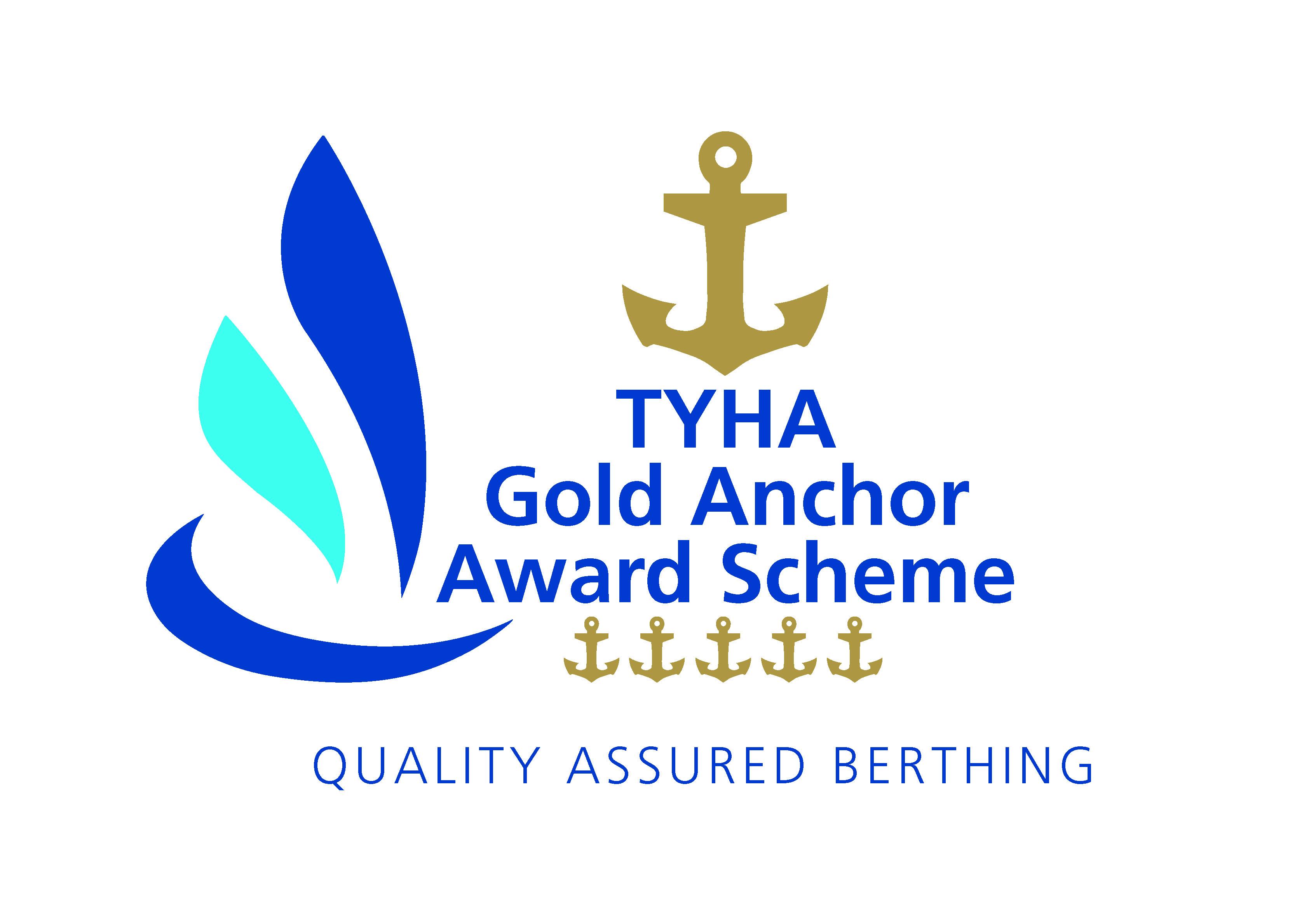 Gold Anchor Logo