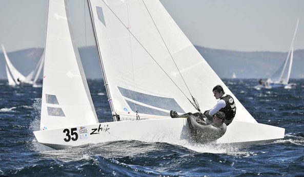 Irish pairing at Star Worlds, Hyeres