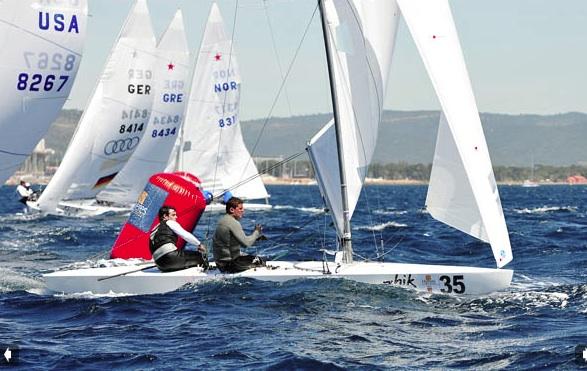 Star Sailing  World Championship at Hyeres 2012