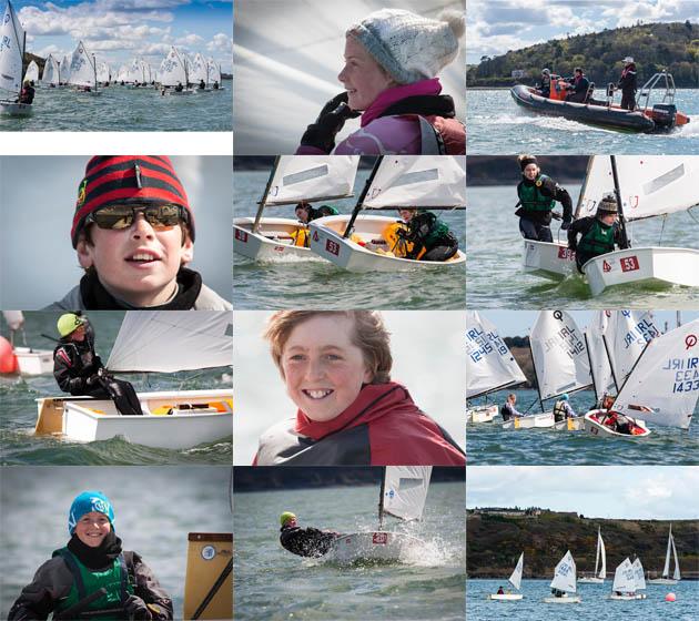 A wonderful day for Optimist sailing  at Royal Cork  Yacht Club.  Picture Robert Bateman