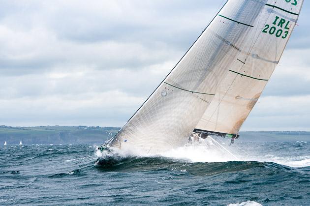 Gloves Off on the windward/ leeward course. Picture Robert Bateman