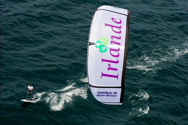 Bruno Sroda  Three times World Champion Kiteboarder