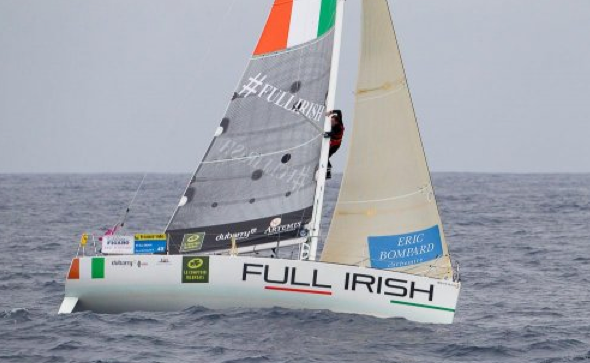 David Kenefick and Olaf Sorensen will be sailing Full Irish in the forthcoming Channel Race.