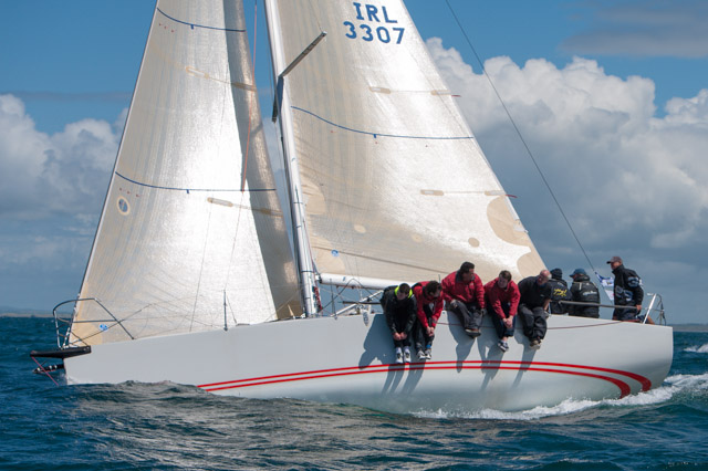 Paul O'Higgins' Rockabill V third in IRC 0/1 on Day Two.  File Picture Robert Bateman