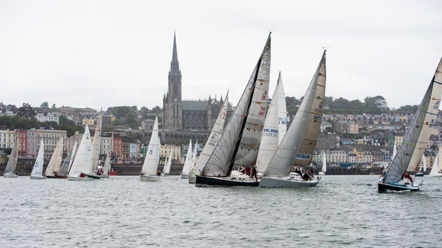 Cobh to Blackrock start line. Picture Bateman