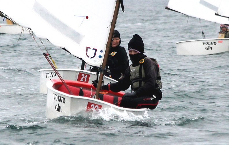 Tom and Rob Keal competing in the Oppie Munsters in Kinsale.