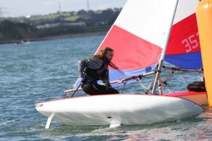 Topper Lucy Donworth in action