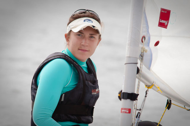 Annalise Murphy pictured at the Irish Laser Nationals at Royal Cork Yacht Club recently. Picture Robert Bateman