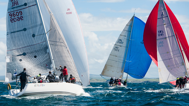 ICRA Nationals, at Tralee Bay Sailing Club 2013.  Picture Robert Bateman