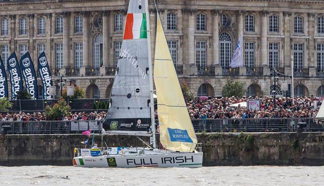 """""""Full Irish"""" sailing in the 2013 event"""