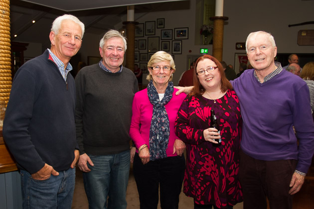 Simon Nelson, John Molloy, Jackie Kenefick, Shelly Murphy and Tadgh Dwyer