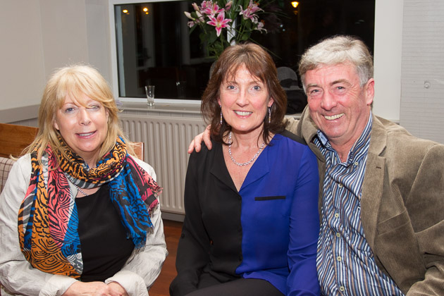Judy O'Leary  and Wendy and Clem McEligott