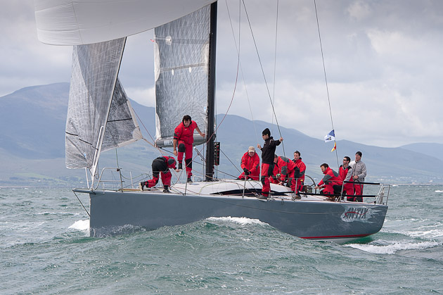 Anthony O'Leary's Antix Leader of the 2010 winning Irish Commodore's Cup Team. Picture Robert Bateman