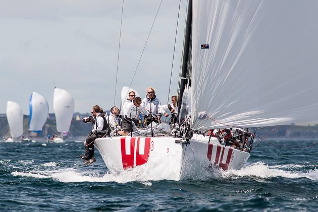 Keronimo sailing off Cork in 2013. Picture Robert Bateman