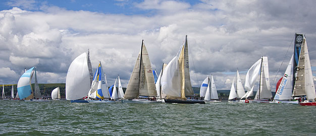 Start of the 2012 Round Ireland Race.  Picture Robert Bateman