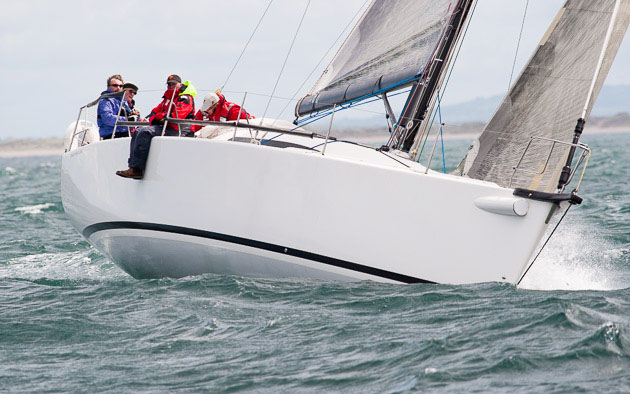 George Sisk's Farr 42 'WOW'.will be sailing in Volvo Cork Week in 2014. Picture Robert Bateman