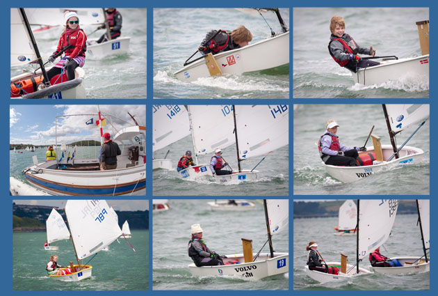 The Regatta Fleet racing today. All pictures Robert Bateman