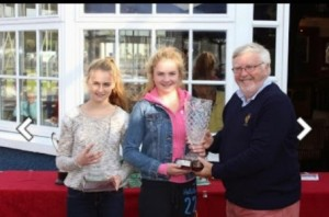 Sarah Cudmore  Kelly Williams RS Feva Munster Champions