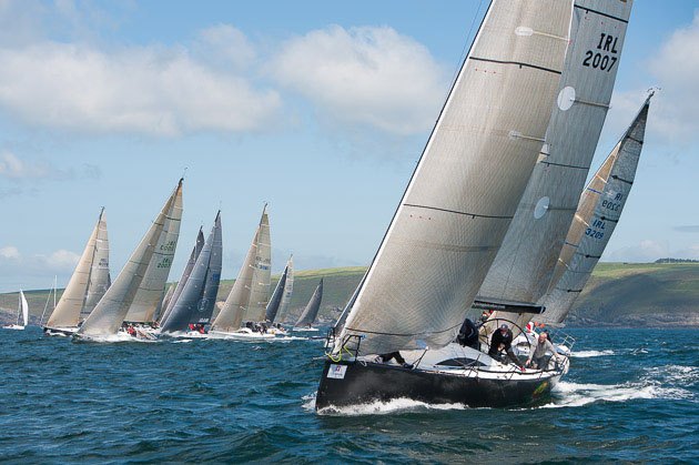 Class One start at Sovereigns' Cup Kinsale 2013. Picture Robert Bateman