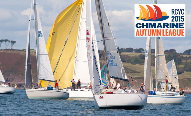 Light wind opening day for 2014 CH Marine Autumn Series. File Picture Robert Bateman