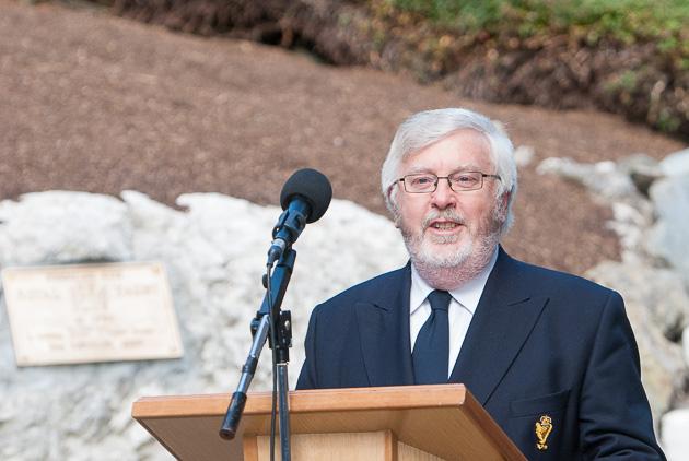 Royal Cup Admiral Pat Lyons. Photo Robert Bateman