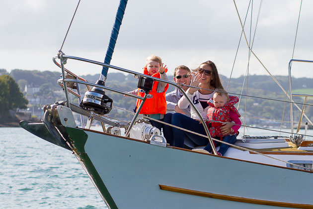 Family fun at sea