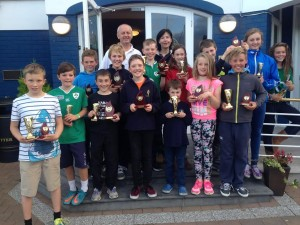 July Aug 2015 Optimist Prizegiving