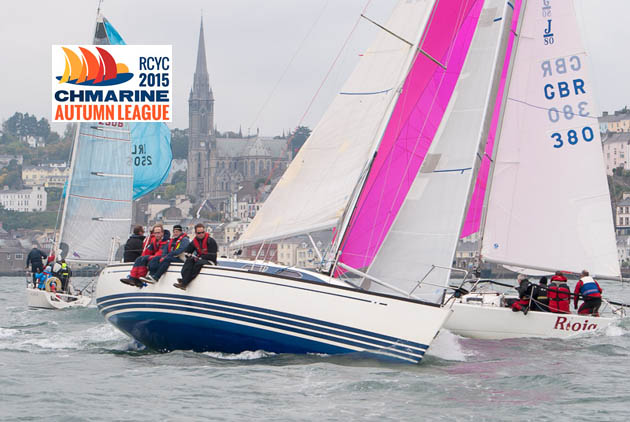 Mary O'Keeffe's 'Tux' upwind with 'Rioja' and 'Alpaca' sailing downwind