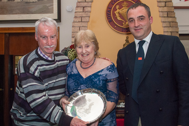 The Admiral Doyle Plate presented to Loch Greine. Picture Robert Bateman
