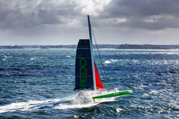 Phaedo in action. Photo Rachel Fallon-Langdon/Team Phaedo