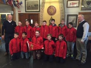 RCYC Optimist 2016 UK Spring Championship Team