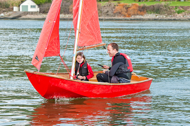 Messing about on the water. Could there be anything more pleasant? Pic Robert Bateman