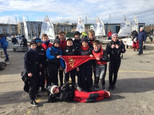 RCYC Team at Spring Championships in Cardiff 2016