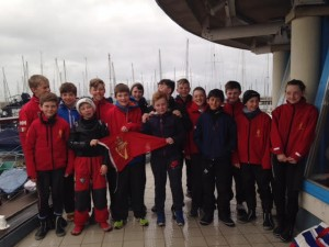 A selection of the RCYC Team at 2016 Trials, Howth YC
