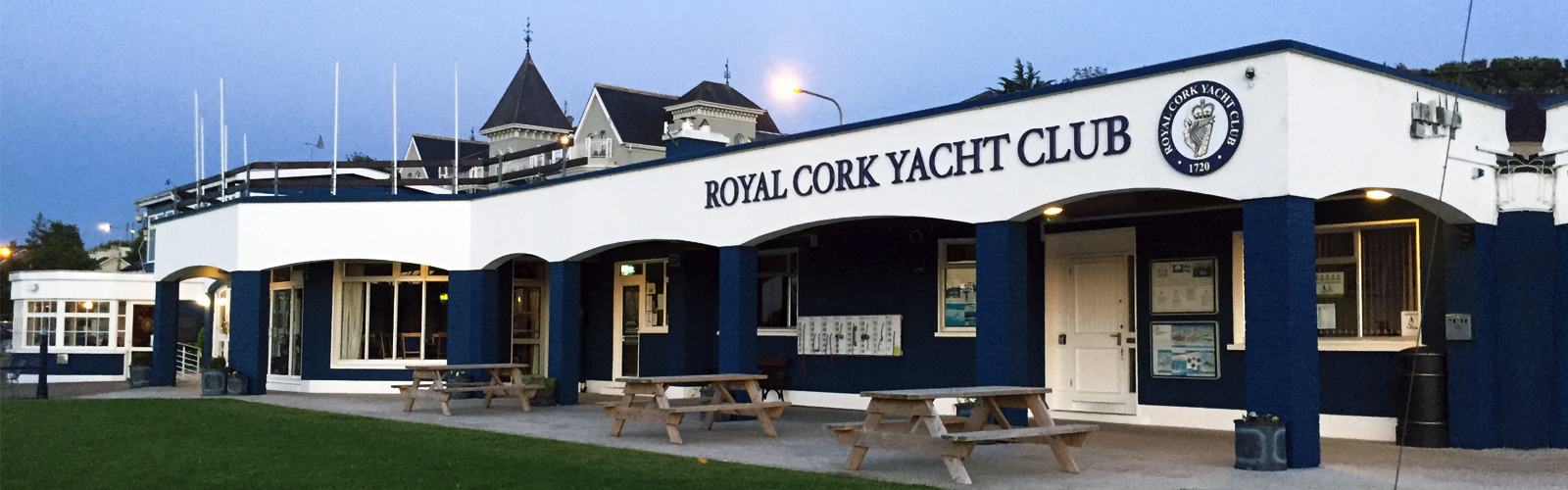 "Based in Crosshaven, Cork, we are the oldest yacht club in the world <a href=""http://www.royalcork.com/club-history/"">..Read more </a>."
