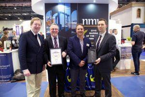 John Roche, Admiral RCYC, Mark Ring, Marina Manager RCYC, Simon Haigh, Chairman TYHA, Gavin Deane, General Manager, RCYC