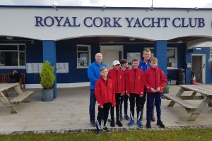Presentation of jackets to Trials Sailors