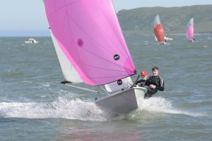 Cian Jones & Luke McGrath competing at the RS200 Eastern Championships