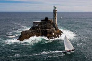 The race will round the Fastnet Rock, the most famous landmark in ocean racing. Photo Daniel Forster