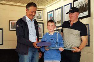 "Liam Duggan gets to bring the fantastic Senior Silver ""Currabinny"" trophy back to the Royal Cork"