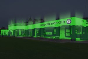 Royal Cork Yacht Club - greening for St Patrick's Day