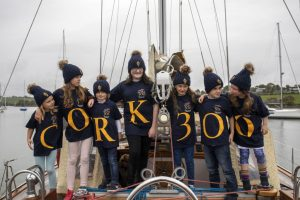 CMK 29092019  REPRO FREE NO FEE  Maeve Deane   crosshaven Clara Deane  crosshaven Dylan o Sullivan  crosshaven Katie Moorehead cobh Abigail O'Sullivan  crosshaven Ryan O'Connell crosshaven Pollyanna downing crosshaven  pictured at the launch of Cork300.   In 2020, the Royal Cork Yacht Club in Crosshaven will celebrate its 300th anniversary with an exciting series of events on and off the water across Cork harbour, called Cork300.  The Royal Cork Yacht Club is the oldest yacht club in the world, and its tricentenary celebrations will take a look back at the origins of 'where it all began', which is attracting significant international interest from thousands of yacht clubs across the globe.  For more see www.cork300.com Picture: Clare Keogh