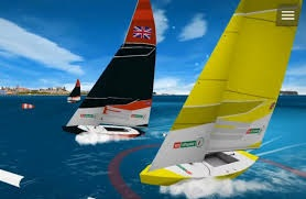 Virtual sailing image